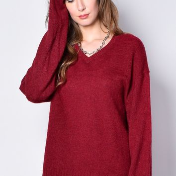 ECH Vintage Haarlem V-Neck Sweater