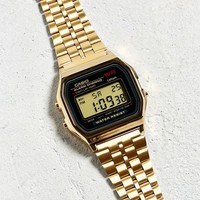 Casio Vintage Gold Watch | Urban Outfitters