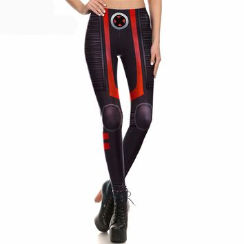 Xmen Black Armor Leggings
