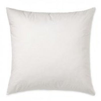 Square Pillow Inserts- 400 Thread Count Cotton Cover