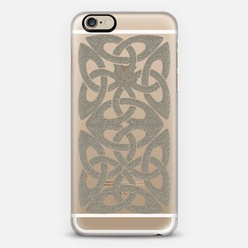 Celtic 3 Silver iPhone 6 case by Alice Gosling | Casetify