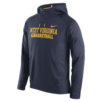 Nike Elite Stripe Pullover (West Virginia) Men's Basketball Hoodie