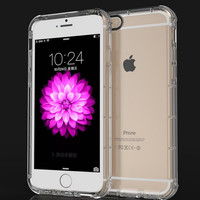 Drop protection clea phone case  For iphone 5 5s 6 6s 6plus 6s plus 7 7plus +Christmas gifts