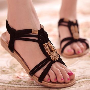 Women Shoes Sandals Comfort Sandals Summer Flip Flops 2016 Fashion High Quality Flat S