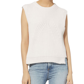 Knit Cropped Shell