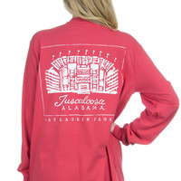 Alabama Stadium Tee - Long Sleeve – Lauren James Co.