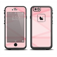 The Subtle Layered Pink Salmon Apple iPhone 6 LifeProof Fre Case Skin Set