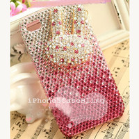 iPhone 5 Case, iPhone 4 Case, iPhone 4s Case, bling iphone 4 case, iphone 5 bling case, Cute iphone 4 case, color gradient iphone 4 case