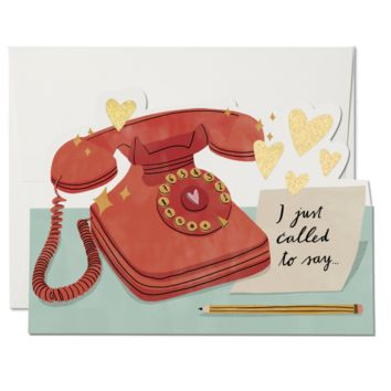 RED CAP CARDS JUST CALLED TO SAY CARD