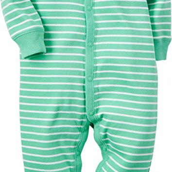 Baby Boys' Cotton Snap-Up Sleep & Play