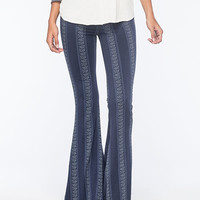 O'neill Skylight Womens Flare Pants Navy  In Sizes