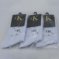 Calvin Klein Woman Men Cotton Socks