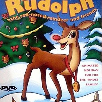 RUDOLPH RED NOSED REINDEER & FRI