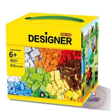 Wange 58231 Classic DIY 625 Pcs Classic Creative Building Blocks Bricks Game Educational Toys for children Decool Lepin