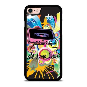 ALL TIME LOW RETRO CASSETE iPhone 8 Case Cover