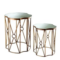 Glass Side Table (Set of 2) | Eichholtz Sun