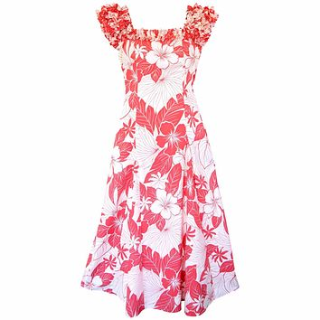 haven pink hawaiian leilani dress