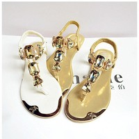 Hot Fashion Rhinestone Women Sandals  shoes