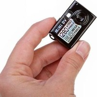 5mp Hd Smallest Mini Dv Spy Hidden Digital Camera Recorder Camcorder Webcam DVR (Black)