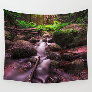 Jungle fever Wall Tapestry by HappyMelvin