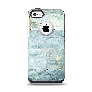 The Blue Marble Layered Bricks Apple iPhone 5c Otterbox Commuter Case Skin Set