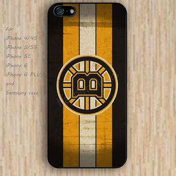 iPhone 6 case dream  boston bruins cartoon iphone case,ipod case,samsung galaxy case available plastic rubber case waterproof B158