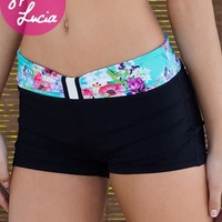 California Kisses FLORAL FUSION JUNIOR SHORT - Juniors