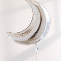 Studio Mucci Foil Moon Balloon | Urban Outfitters