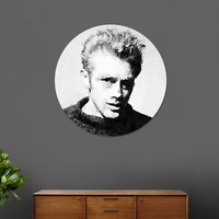 «James Dean», Limited Edition Disk Print by Luis Villeda - From 59€ - Curioos