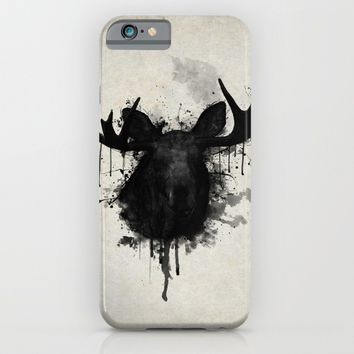 Moose iPhone & iPod Case by Nicklas Gustafsson