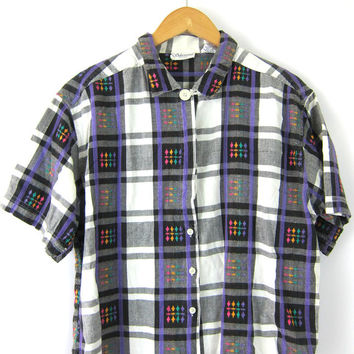 Best Plaid Button Up Shirts For Women Products on Wanelo