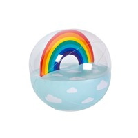 Inflatable Beach Ball Rainbow