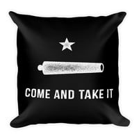 Gonzalez Come and Take It Square Throw Pillow