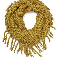 ModCloth What Glows Around Scarf in Marigold