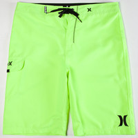 Hurley One & Only Mens Boardshorts Neon Yellow  In Sizes