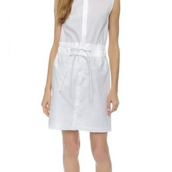 3.1 Phillip Lim Dress with Gathered Waist