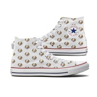 Converse Dog Emoji High Top Chucks