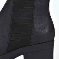 Frankie Pull On Cleated Chelsea Boot