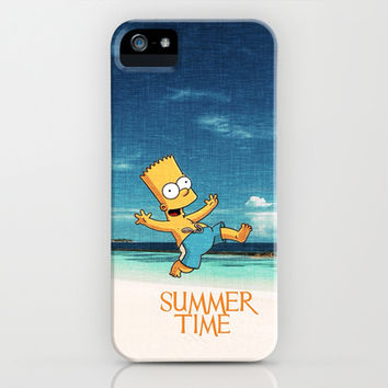 SUMMERTIME iPhone & iPod Case by Ylenia Pizzetti