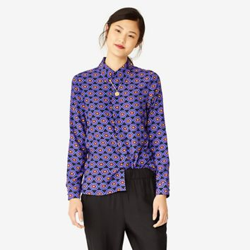 Kate Spade Saturday Perfect Day Shirt In Jazzy Gems