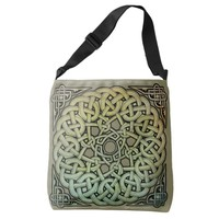 Celtic Knotwork Mandala Crossbody Bag