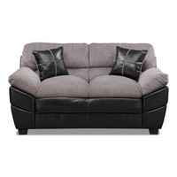 Chandler Gray Loveseat