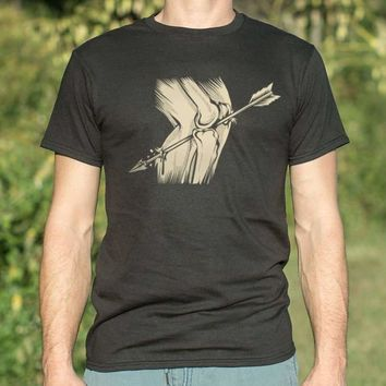 Mens Arrow In The Knee T-Shirt