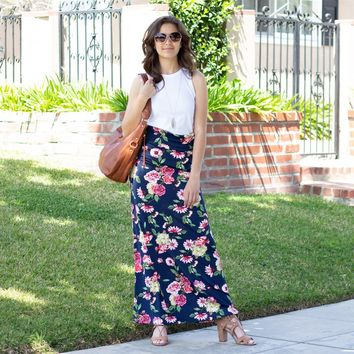 Floral Dream Maxi Skirt