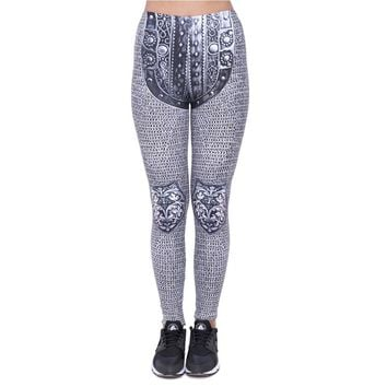 Gray Chainmail Armor Leggings