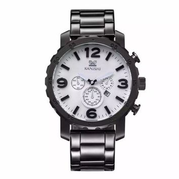 kanishi Man Sportssiness Etiquette Quartz Watch