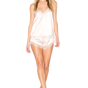 homebodii Cleo Cami Set in Blush | REVOLVE