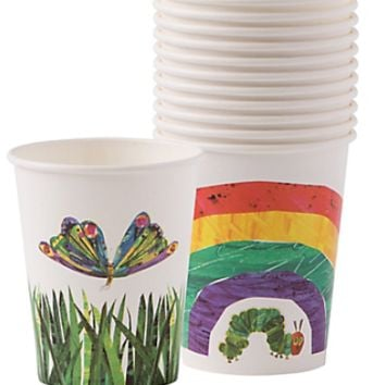 The Very Hungry Caterpillar Cups