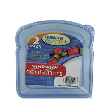 Sandwich Containers With Lids (pack of 24)