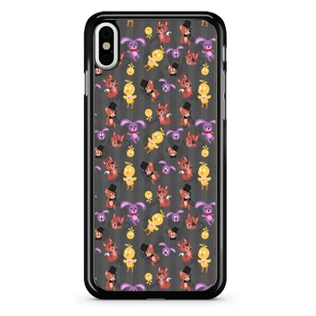 Five Nights At Freddy S Fnaf Pattern iPhone X Case